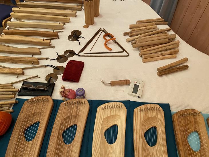 Noen av instrumentene